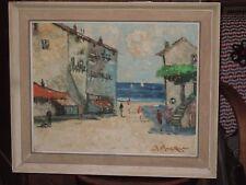 Robert Mogisse (née en 1933), la Plage de Théoule sur Mer, année 1950