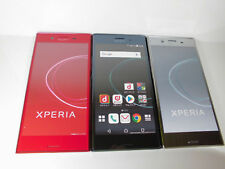 NTT-docomo SO-04J Sony Xperia XZ Premium 3 color set Non-working Display Phone