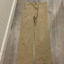 Childrens Place Boys Pants Sz 14 Tan Khaki Chinos School Uniform Everyday W15