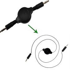 3.5mm AUXILIARY Retractable Cord  Male to Male Stereo Audio Data Cable Mp3 CABLE