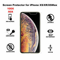 Wholesale Bulk Lot Tempered Glass Screen Protector iPhone 6/7/8/11 XR X PRO MAX