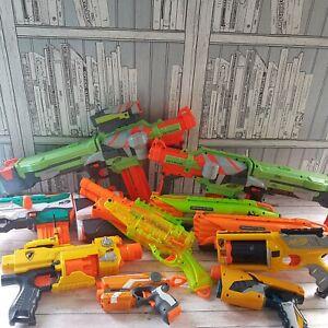 Huge nerf gun bundle Nitron x 2 Tri-Strike Roughcut x 2 Barrelbreak & More