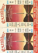 THE FANTASTIC IBIZA Rave Flyer Flyers A5 25/5/91 Bridge Wharf London NW1