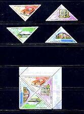 Hong Kong  2000 #890-3A  museums & libraries  set & block  MNH  F177