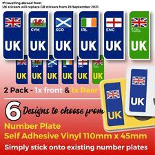 UK Decals 6 Designs Great Britain Wales Scotland Ireland