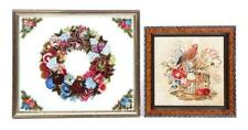 Tinsel Picture And Needlework. Lot 252