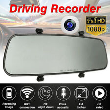 2.4'' Specchietto Retrovisore Interno Telecamere monitor DVR Recorder DashCam