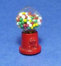 Miniature Dollhouse Table Top Gumball Machine 1:12 Scale New