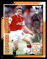 Merlin Premier League Kick Off 1997-1998 Stephen Hughes (Arsenal) No. 12