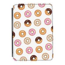 Donut Patrón Donut Kindle Paperwhite Toque PU Funda Libro de Piel