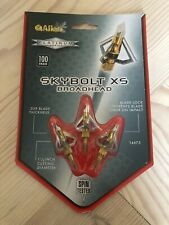 Allen Skybolt XS 3 Blade Broadhead 14675-100 Grain Archery Chisel Tip-3 in Pack