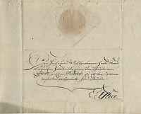 Bautzen 16.NOV.1813 Schnörkelbrief des von Kiesenwetter an die Gräfin von Lynar