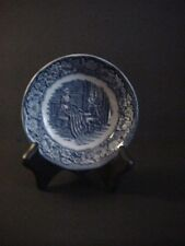 Liberty Blue Betsy Ross Flag Fruit Dessert Berry Sauce Bowl Made England