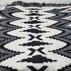Vintage Hayim Company Cotton Jacquard Rug Mat India Bathmat Door Entry 30x48 NOS