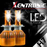 XENTRONIC LED HID Headlight kit H7 White for Hyundai Genesis Coupe 2013-2016