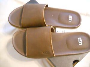 UGG Benninson Slide II Sandals Men's 10 Luggage NIB Free Shipping