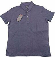 Armani Jeans Mens Navy Blue H/S Polo Tshirt - Sz XXL & XXXL BNWT