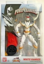 Saban'S Power Rangers White Ranger Legacy Collection Dino Thunder. In Stock!