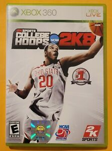 College Hoops 2K8 (Microsoft Xbox 360 2007) Complete in Box TESTED WORKING