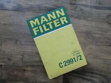 MANN Filter Luftfilter Air filter C 2991/2