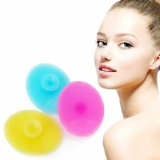 DEEP PORE CLEANSING SILICONE Exfoliating Face Brush Facial Massage Cleansing