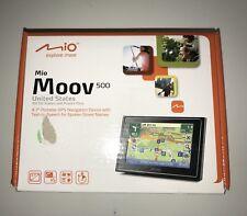 "Mio Moov 500 United States 4.7"" Portable Gps Navigation Device"