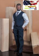 1/6 Men Dark blue Classic suit Western-style / MUSCLE Body PHICEN M34 M35 ❶USA❶