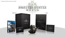 Monster Hunter: World - Collector's Edition US (Sony PlayStation 4 PS4 2018) NEW