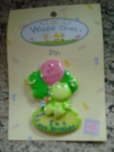 Widdle Ones Pin Badge - I'M A BIG BROTHER by Russ Handpainted - NEW