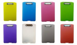 A4 Clipboard Box File Durable Waterproof Document Filing Storage Case Office New