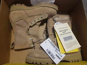 NEW ARMY BELLEVILLE Flight Combat BOOTS Vibram Military Footwear SIZE 3 XW