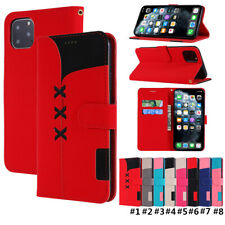 Luxury Leather Flip Card Wallet Phone Case Cover For iPhone 11Max 6 XR SE (2020)