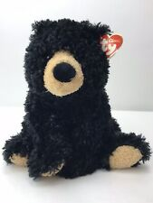 TY Classic Plush Grizzles the Black Grizzly Bear 2005 Stuffed Animal Plushy Toy