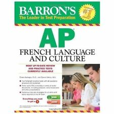 Barron's AP French Language and Culture with 3 Audio CDs