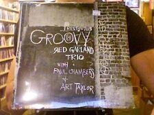 Red Garland Trio Groovy LP sealed vinyl RE reissue