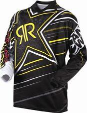Youth M Medium Rockstar Motorbike MX BMX Jersey Colab Black Kids Childrens