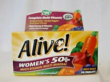 Nature's Way Alive! High Potency Women's 50+ Multivitamin/Multimineral 50 Tabs