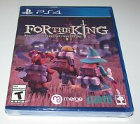 For the King for Playstation 4 Brand New! Fast Shipping!