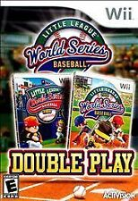 LITTLE LEAGUE WORLD SERIES BASEBALL: DOUBLE PLAY - NINTENDO Wii GAME COMPLETE