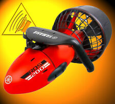 YAMAHA SCOOTER UNDERWATER RDS200 Red Black