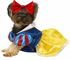 Snow White Disney Princess Classic Fancy Dress Halloween Dog Cat Pet Costume
