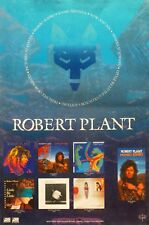 "ROBERT PLANT ""MUMBO JUMBO"" U.S. POSTER - Led Zeppelin, Fox Logo Over 7 Covers"