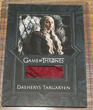 Game of Thrones Inflexions Rittenhouse - Daenerys Targaryen Cape Relic VR9