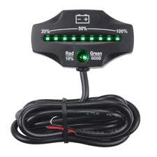 12V 24V LED Lead Acid Storage Battery Indicator Gauge Level Monitor for GoG3