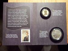 Error Set 2015 Lyndon B Johnson Coin and Chronicles Set Reverse Proof AX4 011