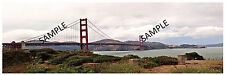 "HO Scenery Background Golden Gate Bridge 12"" high x 36"" wide poly poster media"