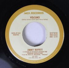 Rock 45 Jimmy Buffett - Volcano / Stranded On A Sandbar On Mca Records