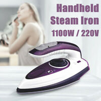 Handheld Steam Iron Electric Ironing Portable Home Travel Cloth Garment Steamer