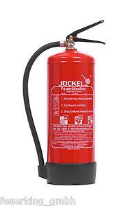 Jockel 6kg ABC WH DIN EN 3 Pulver Feuerlöscher P6LJKM 55 6210100