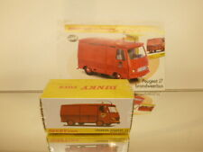 DINKY TOYS ATLAS  570P FOURGON PEUGEOT J7 POMPIERS - RED 1:43 - SEALED BOX